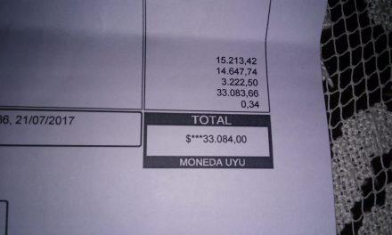 Familia del barrio Chana tiene que pagar $33.084 de consumo de agua