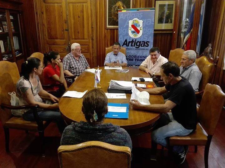 La intendencia de Artigas emitió comunicado sobre la situación de los vecinos de la zona de Zanja del Tigre