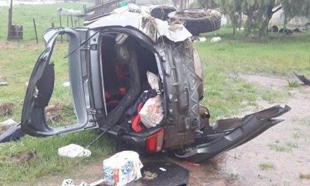Familia artiguense protagonizó siniestro de tránsito en ruta 5 cercano a Florida