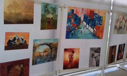 Se exponen pinturas de la artista Virginia Gaite Lusiardo