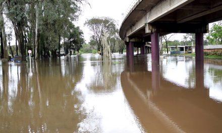 10,80:El río Cuareim continúa creciendo