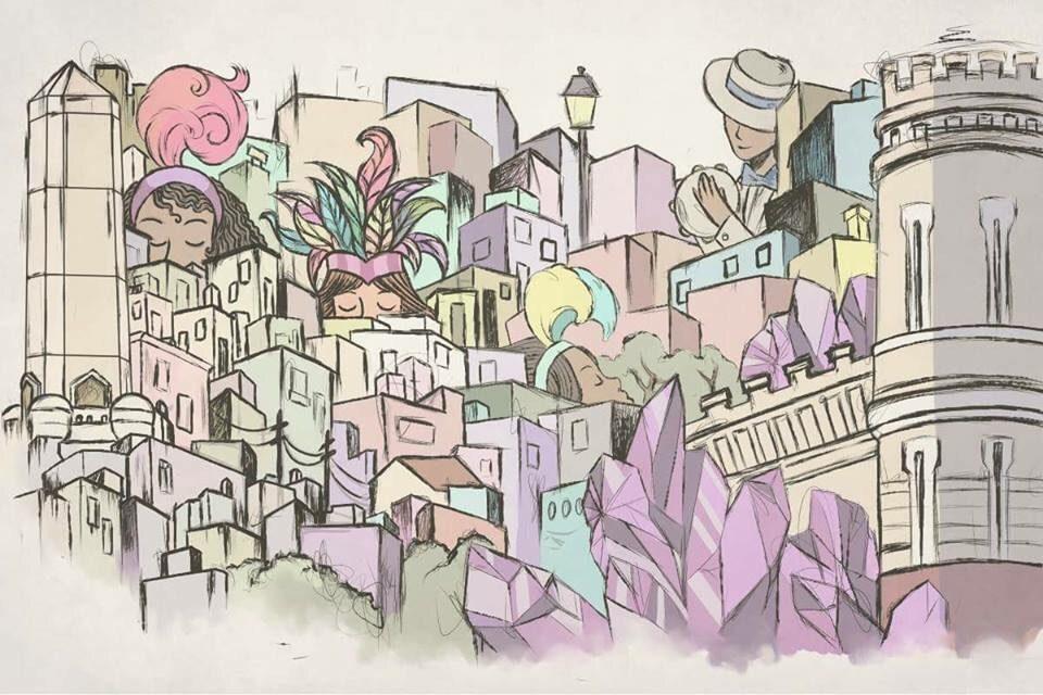 El sitio www.carnavaldeartigas.com presentó ingeniosa ilustración sobre el carnaval de Artigas en su portada