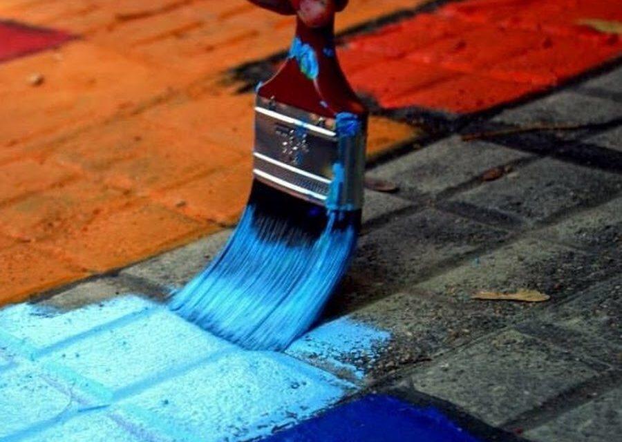 Pintando veredas