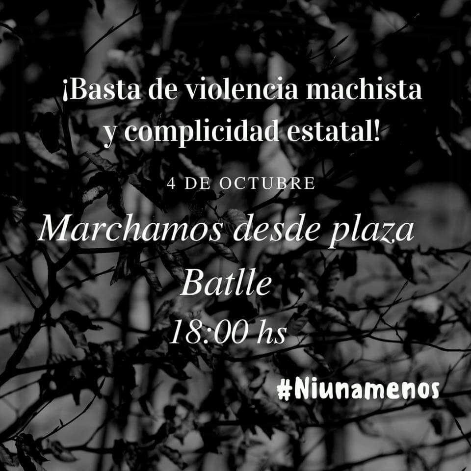 Bajo la consigna»Basta de violencia machista y complicidad estatal» se organiza una marcha para este miercoles pidiendo justicia por Yanina