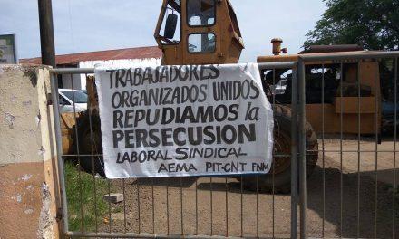 Gremio de Municipales ocupó en la mañana de jueves el Corralón Municipal tras el cese de un funcionario de 11 años de antiguedad