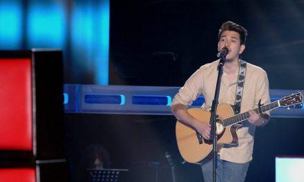 Bruno es uruguayo,vivió 9 años en Artigas y este viernes participó del programa La Voz España