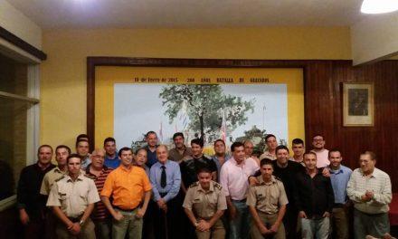En la ultima semana El Club de Leones,La Sociedad Italiana,Intendencia y el Regimiento Guayabos recconocieron a la prensa