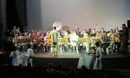 Se realizó el 1er concierto de Bandas Militares de la Triple Frontera