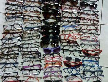 Aduanas incautó más de 600 pares de lentes que ingresaron al país de manera ilegal
