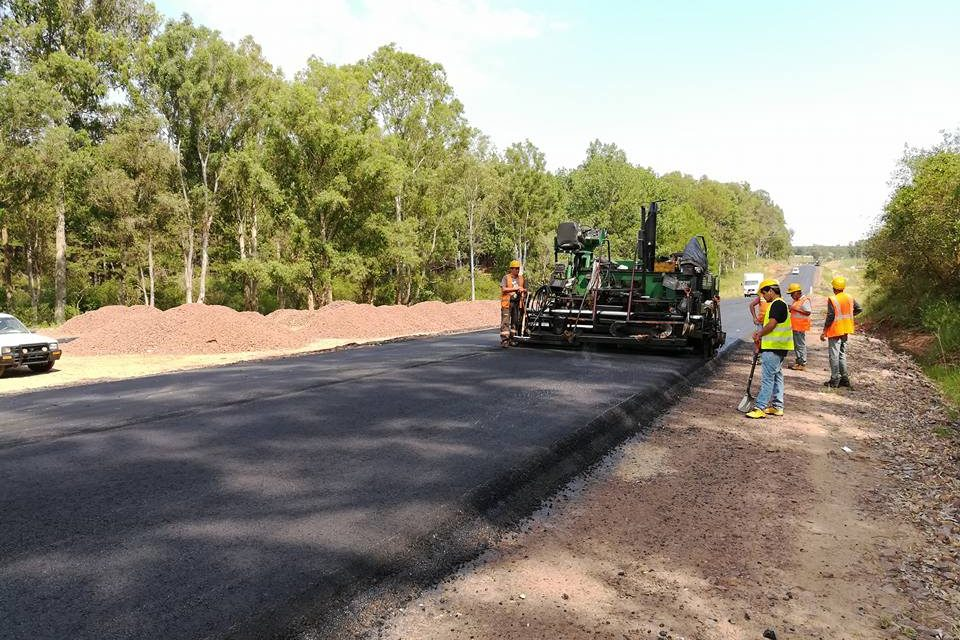 Comisión de Transporte y Obras Públicas de la Cámara de Diputados recorrió obras de Ruta 30
