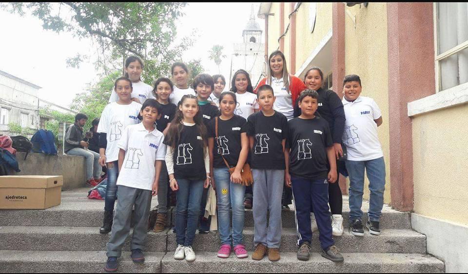 Buena participación de las Ecuelas 77 de Baltasar Brum y la 81 de Bella Unión en el regional de ajedrez