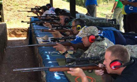 Se realizó competencia de tiro, carabina 22 en el Regimiento Guayabos