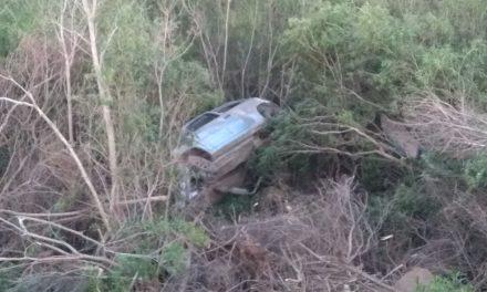 Se registró un vuelco en Ruta 30 dejando como saldo 4 lesionados
