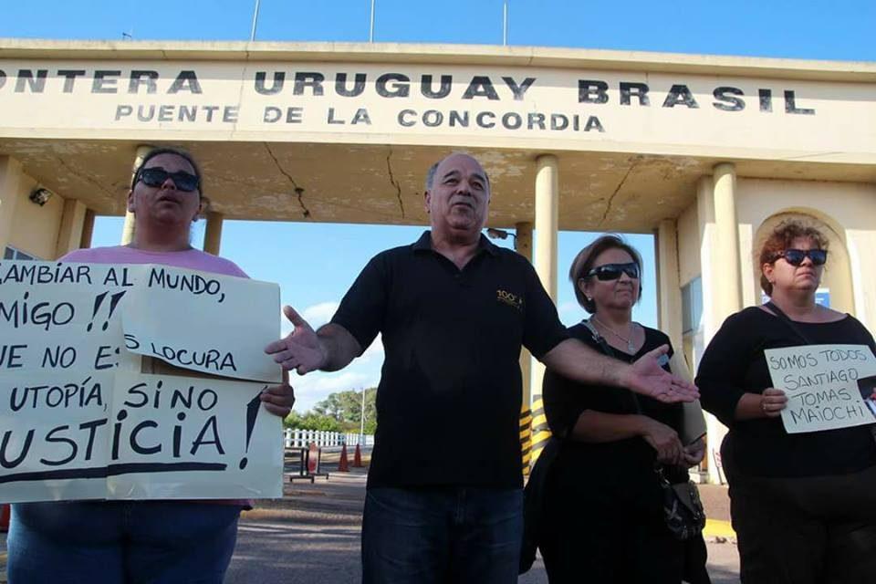 «Hasta que no se aclare el asesinato de Santiago Tomás no descansaremos»