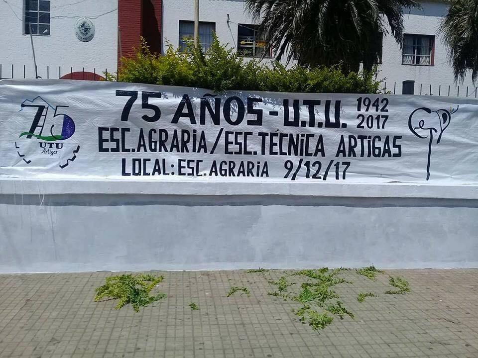 UTU Artigas celebró sus 75 años