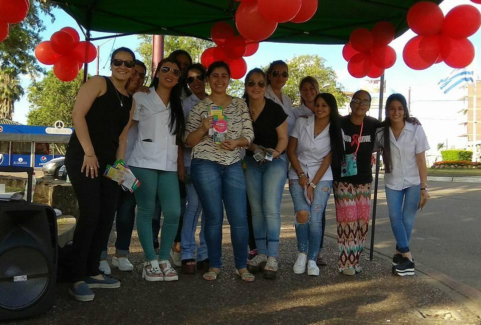 Movida por el Dia Internacional de Lucha contra el SIDA