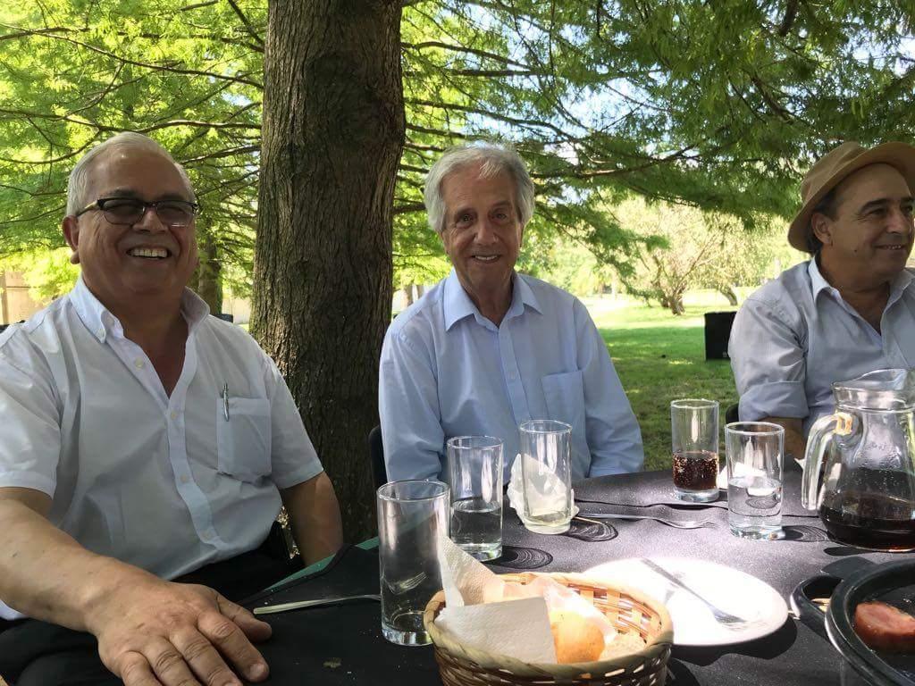 Diputado Silvio Ríos participó del almuerzo de fin de año junto al Presidente de la República