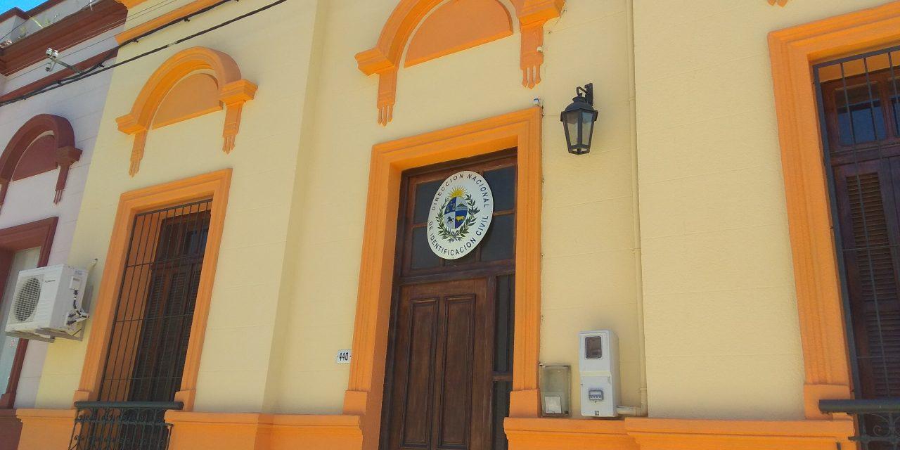 Nueva y Moderna oficina de la Dirección Nacional de Identificación Civil