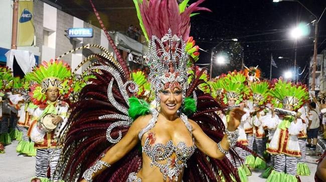 El carnaval de Artigas en el canal brasilero Band