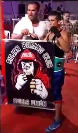 "EL BOXEADOR ARTIGUENSE ""TITO"" MACEDO GANÓ POR NOCAUT UNA PELEA INTERNACIONAL EN PIRIÁPOLIS"