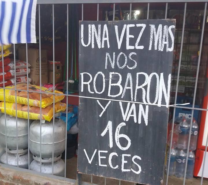 NO SE AGUANTA MÁS LA OLA DE ROBOS