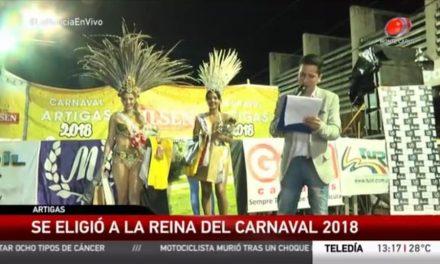 ELECCION REINA CARNAVAL DE ARTIGAS 2018