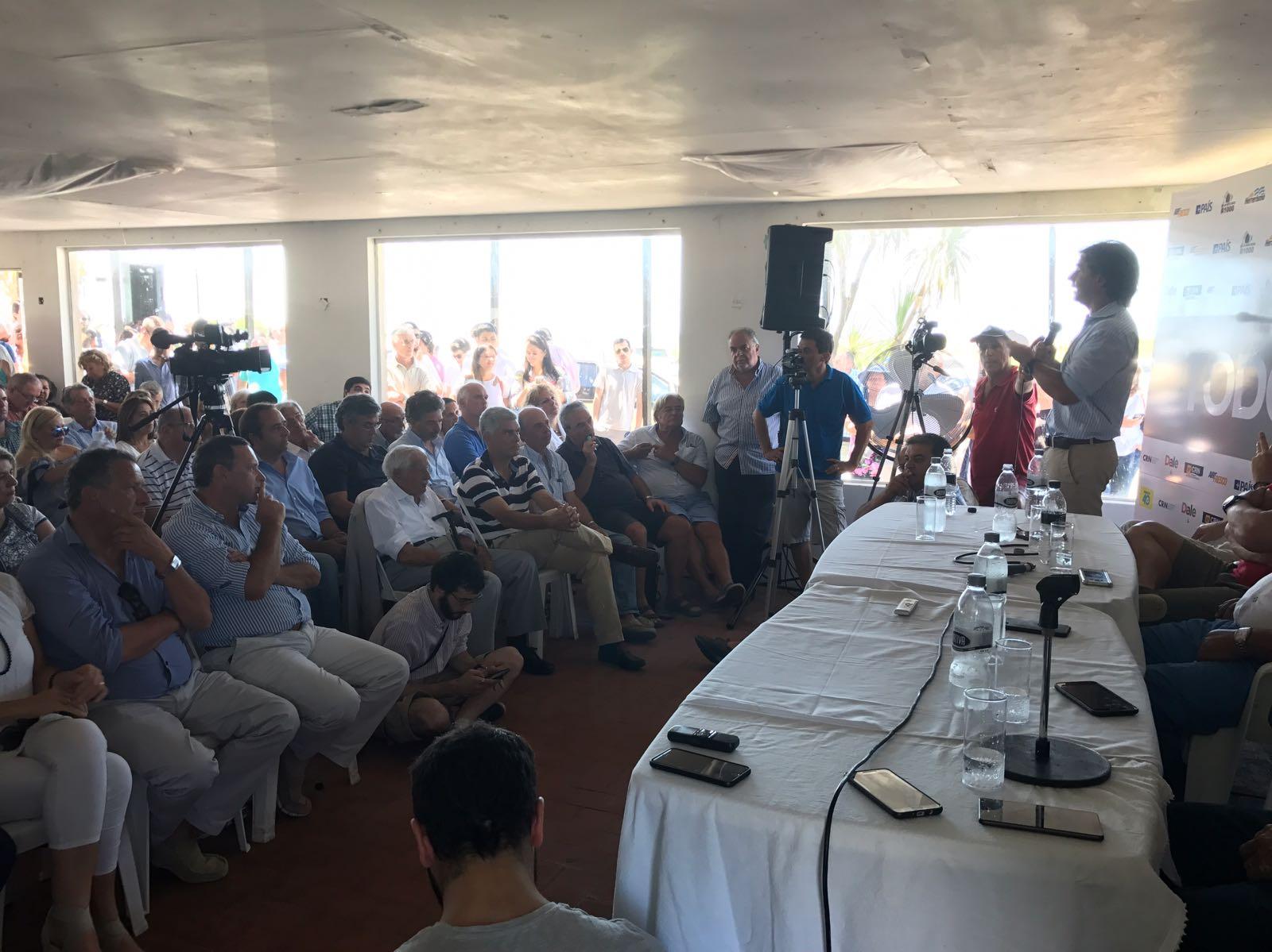 """PABLO CARAM PARTICIPA DE LA REUNIÓN NACIONAL DE LA AGRUPACIÓN """"TODOS"""" DEL PARTIDO NACIONAL"""