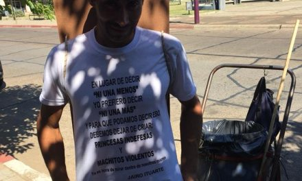 JAIRO ITUARTE BARRE LAS VEREDAS DE AVENIDA LECUEDER