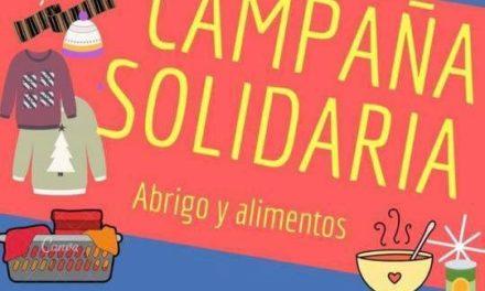 ESTUDIANTES DE DERECHO TRABAJAN EN UNA CAMPAÑA SOLIDARIA DE ABRIGOS Y ALIMENTOS