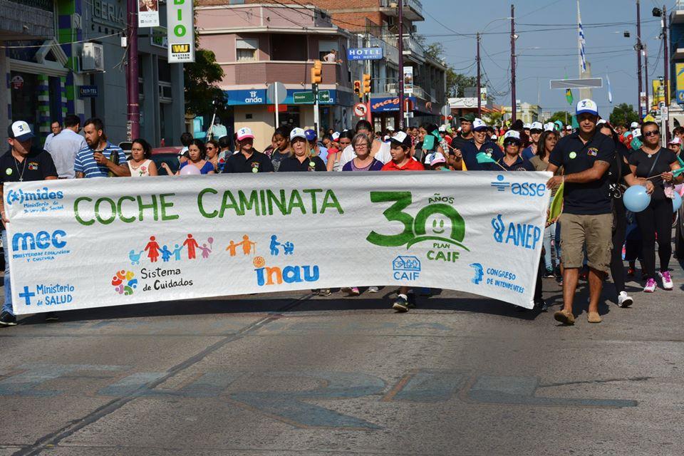 """""""COCHECAMINATA"""" POR LOS 30 AÑOS DEL PLAN CAIF"""