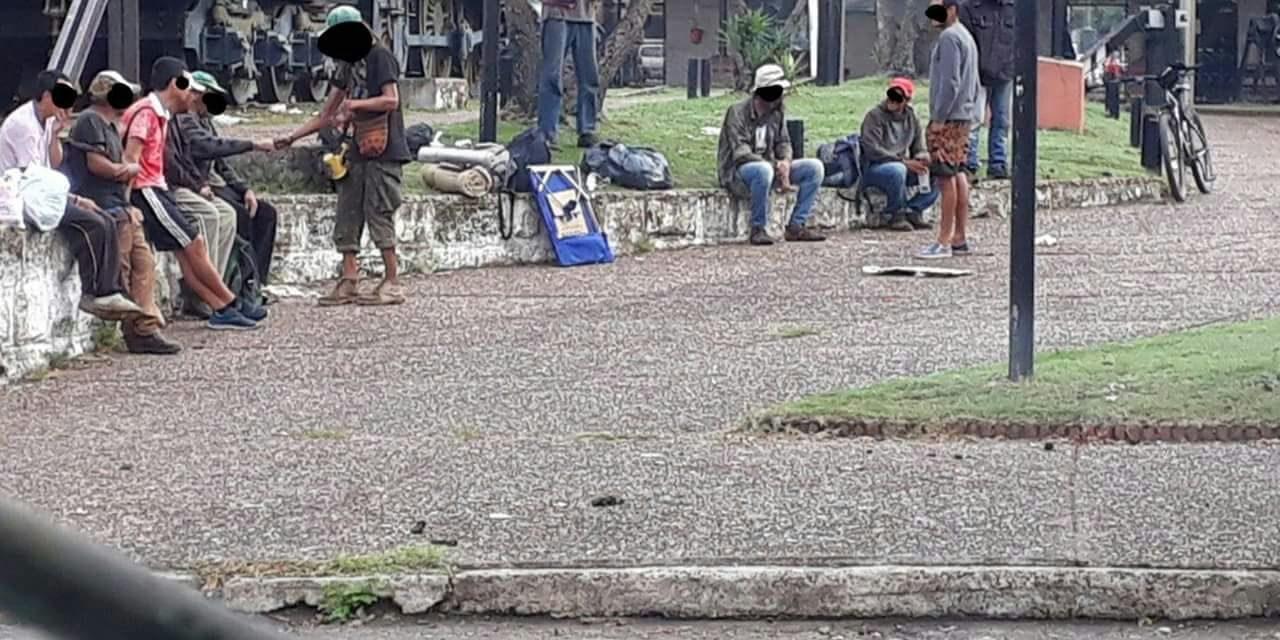EL AUMENTO DE INDIGENTES PREOCUPA A LOS VECINOS DE LA ZONA DE LA TERMINAL