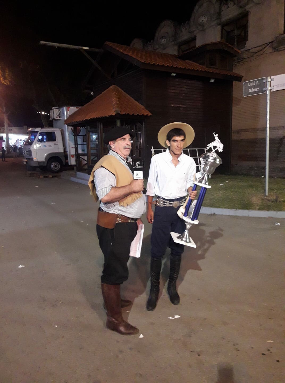 RODRIGO DURET CAMPEÓN EN EL PRADO