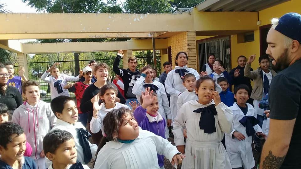 ZUMBA KIDS EN ESCUELAS