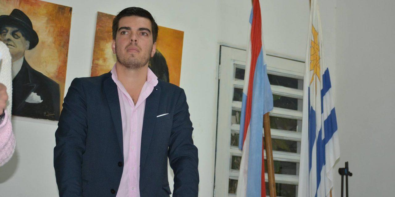 EMILIANO SORAVILLA ASUMIÓ COMO PRESIDENTE DE LA JUVENTUD NACIONALISTA