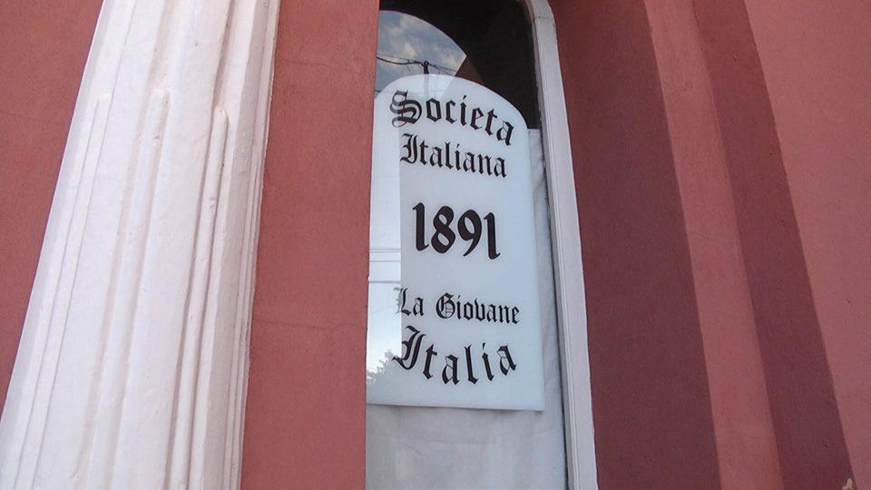 LA SOCIEDAD ITALIANA FUÉ DECLARADA PATRIMONIO CULTURAL DEPARTAMENTAL