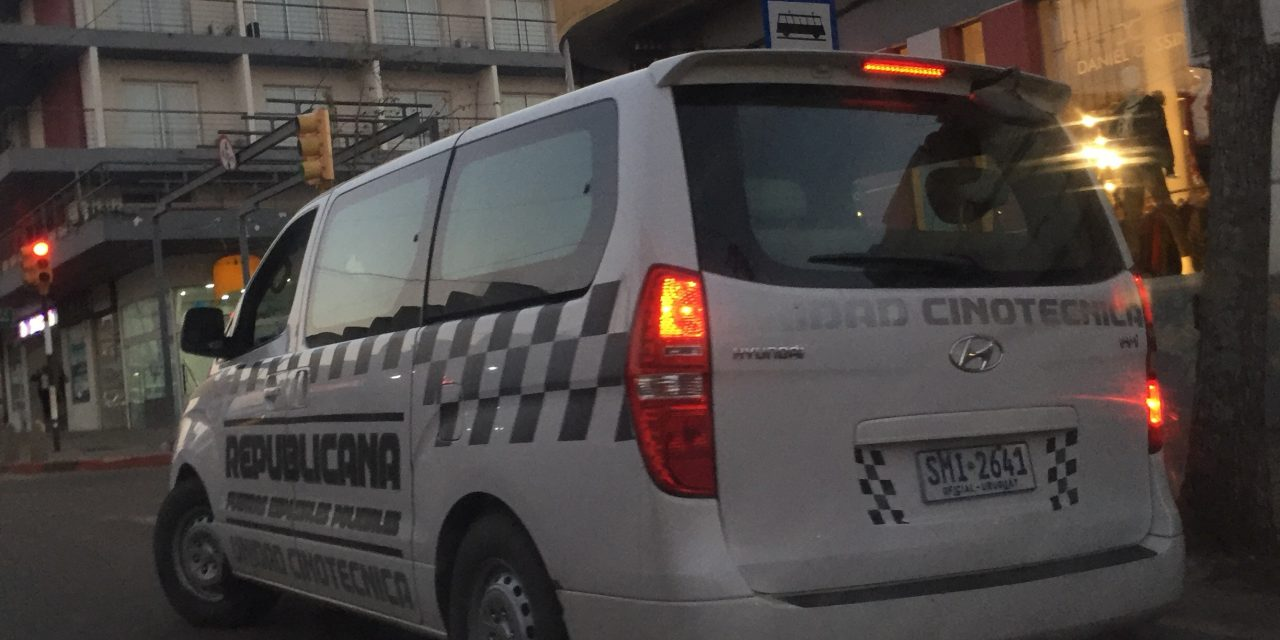 DECENAS DE EFECTIVOS DE LA GUARDIA REPUBLICANA PATRULLAN LA CIUDAD DE ARTIGAS