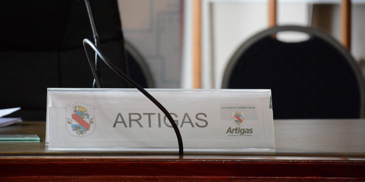 CONGRESO DE INTENDENTES SESIONARÁ EN ARTIGAS