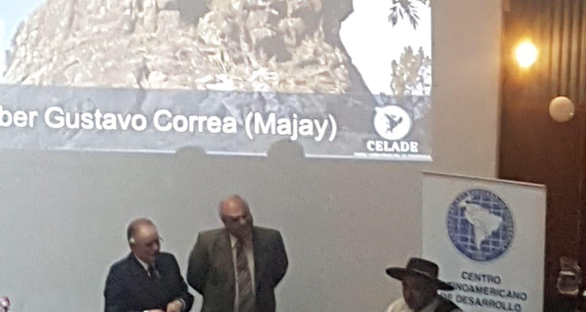 GUSTAVO CORREA MAJAY RECIBIÓ EL PREMIO NACIONAL A LA EXCELENCIAS CIUDADANA