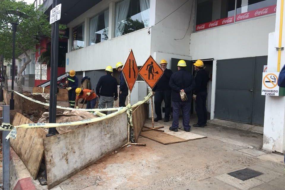 CORTE DE ENERGÍA EN ZONA CENTRICA POR CAMBIO DE LÍNEAS