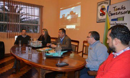 PRESENTACIÓN DE PAVIMENTACIÓN DE CAMINO QUE CONECTA A LAS LOCALIDADES DE BALTASAR BRUM CON TOMAS GOMENSORO