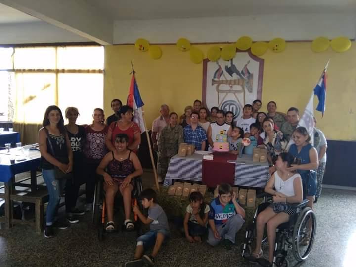 CLAUSURA DE LAS CLASES DE EQUINOTERAPIA 2018.
