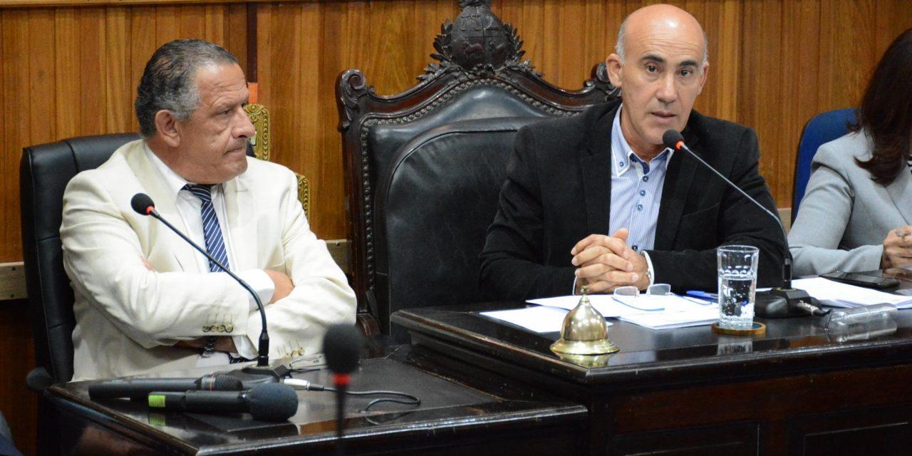 INTENDENTE PABLO CARAM CONCURRIÓ A LA JUNTA DEPARTAMENTAL