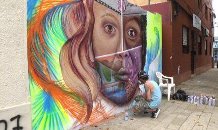 RECONOCIDO GRAFITTERO URUGUAYO PINTA MURO EN NUESTRA CIUDAD