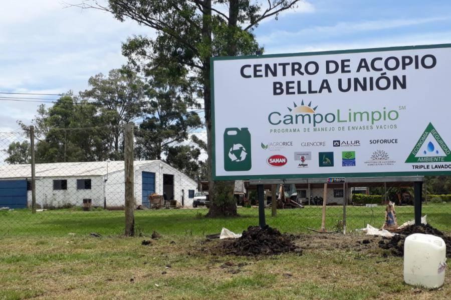 PRIMER CENTRO DE ACOPIO DE ENVASES DE AGROQUIMICOS EN ARTIGAS