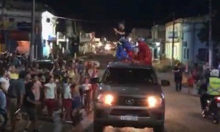 LOS REYES MAGOS RECORRIERON LA CIUDAD DE BELLA UNIÓN