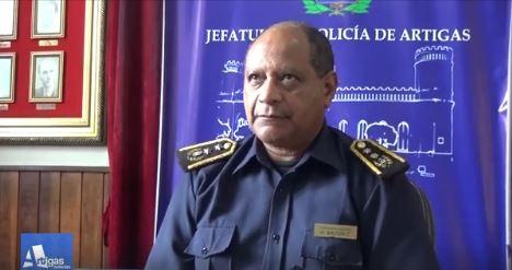 EL JEFE DE POLICÍA DE ARTIGAS BRINDÓ DETALLES EN CONFERENCIA DE PRENSA SOBRE EL ASESINATO DEL TRABAJADOR RURAL.