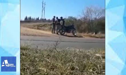 PROCEDIMIENTO POLICIAL EN QUARAI (BRASIL) GENERA POLÉMICA LUEGO DE QUE UN POLICÍA GOLPEARA A UN CIUDADANO URUGUAYO