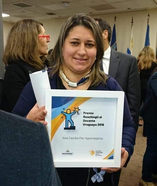 PROFESORA ARTIGUENSE FUE LA GANADORA DEL PREMIO INTERNACIONAL POR EL PROYECTO REALIZADO EN EL LICEO DE PINTADITO