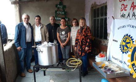 ROTARY REALIZÓ IMPORTANTE DONACIÓN PARA EL COMEDOR DE ANA