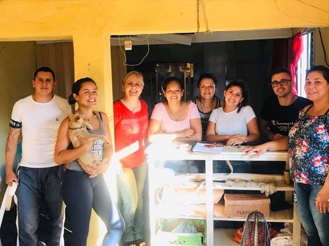 ESTUDIANTES DEL PROGRAMA RUMBO DE UTU ABRIERON SU PROPIO LOCAL